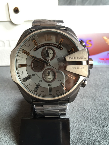 Relógio Diesel Dz4282 Chumbo Original Completo Com Caixa