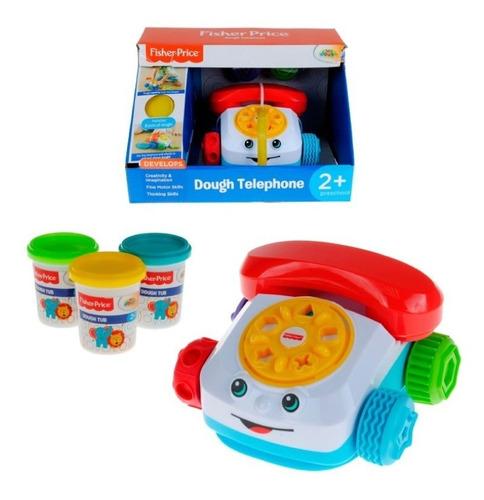 Teléfono Didáctico Con Masas Fisher Price