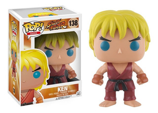 Funko Pop Games Street Fighter Ken #138 Original