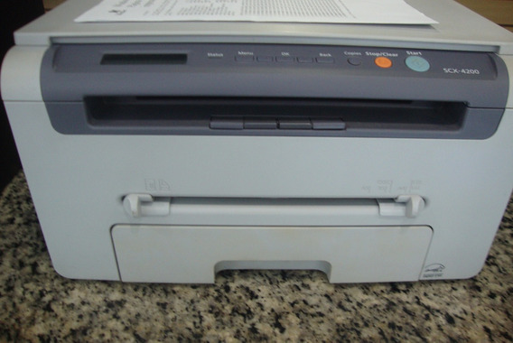 Impressora E Copiadora Samsung Laser Multifuncional Sx 42000
