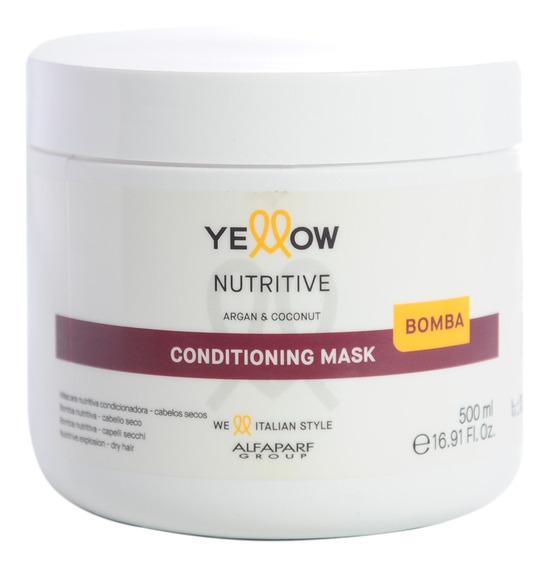 Alfaparf Yellow Bloom Therapy Mascara Hidratante Argan 500ml