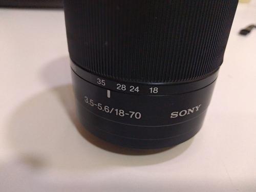 Lente Sony 18-70mm