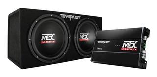 Mtx 12 1200w Dual Loaded Car Subwoofer Audio