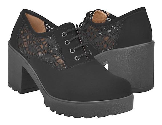 Zapatos Casuales Para Dama Stylo 12001 Negro