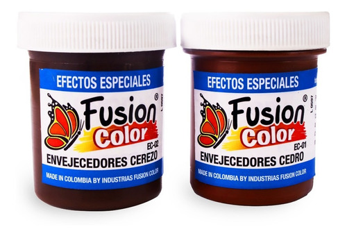 Imagen 1 de 4 de 2 Envejecedores Al Agua X 60 Cc Fusion Color