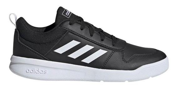 Zapatillas Escolar adidas Tensaur Kids Negro/blanco