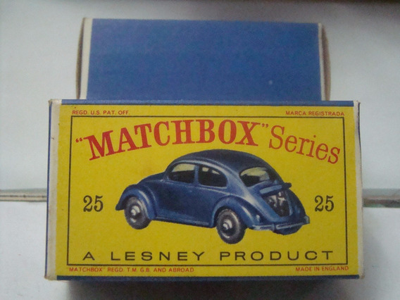 Matchbox Nº25 Volkswagen Fusca Sedan B944
