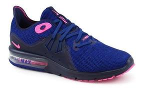 Tênis De Corrida Feminino Nike Air Max Sequent 3 Original