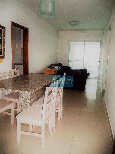 Imagem 1 de 19 de Apartamento Com 2 Dormitórios À Venda, 87 M² Por R$ 480.000 - Canto Do Forte - Praia Grande/sp - Ap0268