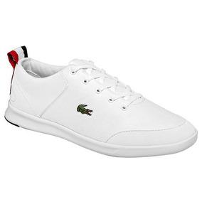 Tenis Sneaker Lacoste Avenir Niños Sint Blanco K54688 Dtt