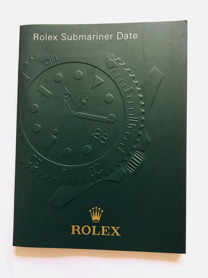 Manual Rolex Submariner Date Original