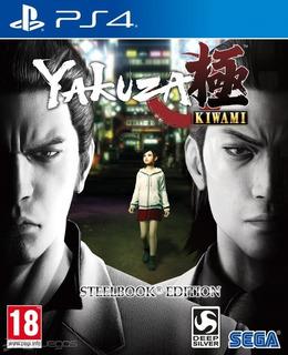Yakuza: Kiwami - Play 4 + 3 Juegos Adicionales.
