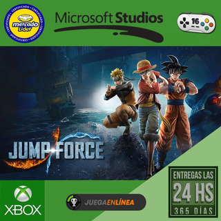 Jump Force - Xbox One Modo Local + En Linea