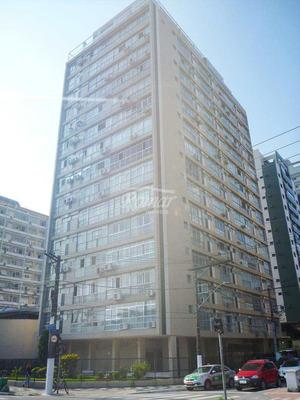 Apartamento Com 1 Dorm, Embaré, Santos, Cod: 597 - A597