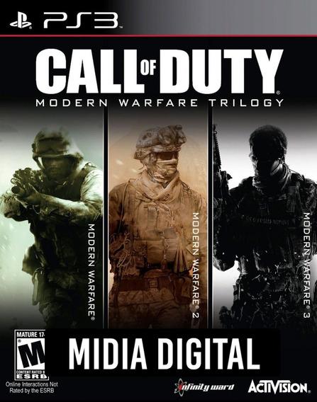 Call Of Duty Modern Warfare Trilogia - Ps3