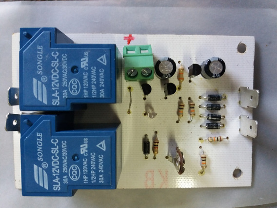 Rele 12v 30amp Ideal Para Amplificador De Potencia