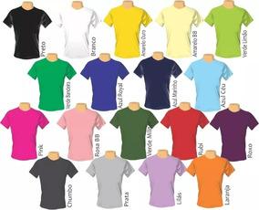 Lote 30 Camisetas Para Sublimação Camisa Malha Blusa