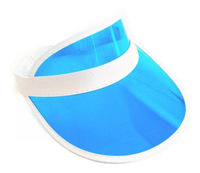 Visera Plásticas Azul