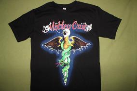 Gusanobass Playera Rock Metal Motley Crue Dr Feel S M Y L