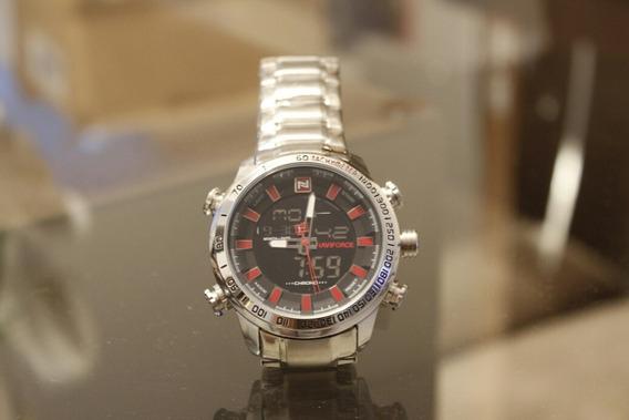 Relógio Naviforce Prata