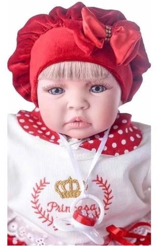 Imagem 1 de 7 de Bebê Reborn Barata Promoção Mamadeira Chupeta - 17 Itens