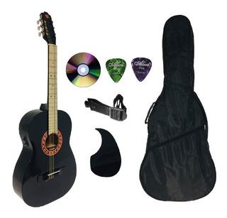 Paquete Completo Guitarra Brx Electroacústica Varios Colores
