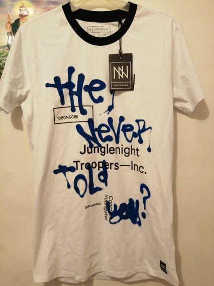 Camiseta No Grada De Manga Corta Non / 6 Graffiti Tee 297838