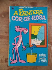 Diversões Juvenis Nº 7 Ano 1974 Com A Pantera Cor De Rosa