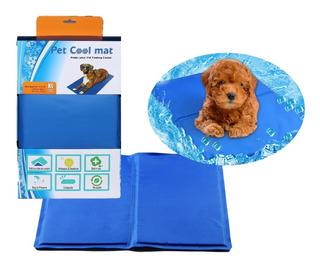 Manta Gel Frío Fría Para Mascotas L:50x90 Cm Perro Gato