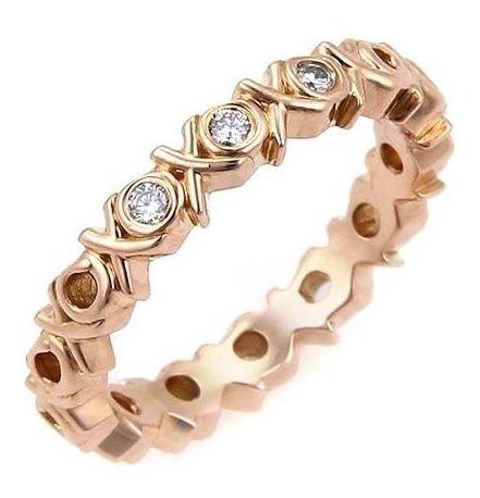 Anillo Tiffany & Co Love/ Kiss Oro Y Brillantes Tiffany Tous