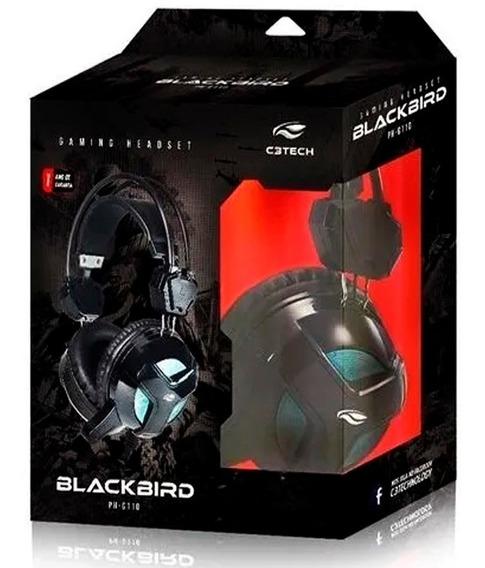 Fone Headset Gamer Blackbird G110 + Adp. Para Ps4 E Xbox One