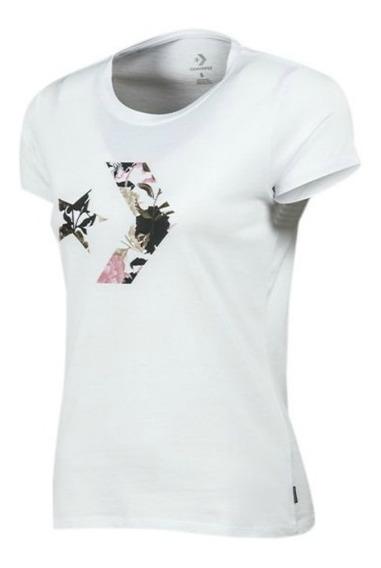 Remera Converse Mujer Style - Blanca - 10008125a01