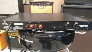 Phonic Mar1 150w En 4 Ohms Potencia Audio Sonido Oferta
