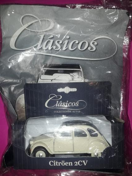 Colección De Autos Clásicos Citroen 2cv