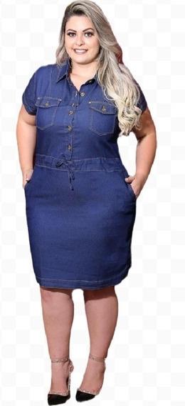 Vestido Jeans Plus Size Evangelico Barato Roupas Femininas
