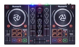 Controlador Numark Party Mix Usb Luces Virtual Dj Cuotas