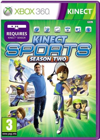 Game Xbox 360 Kinect Sports Season Two - Original - Novo