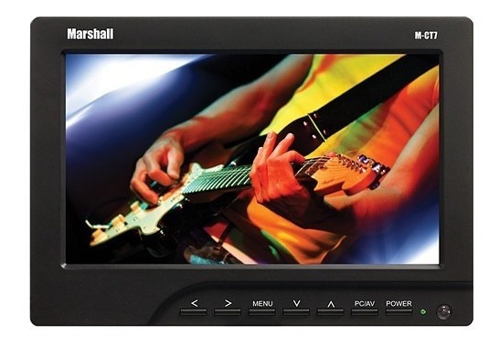 Monitor 14 7 Marshall Electronics M-ct7 7 Dslr Video
