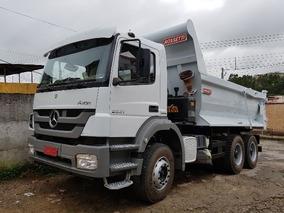 Mercedes-bens 2831 6x4 Ano 2013/2013 Caçamba Meia Cana