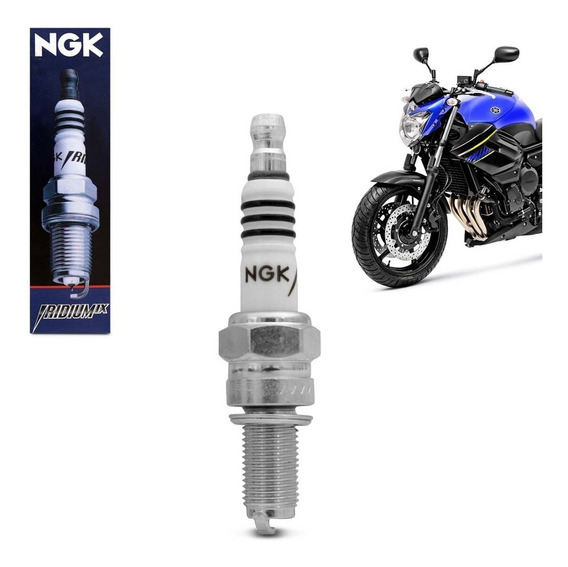 Ngk Vela De Ignição Yamaha Fzr 600 1000 Mt-09 R1 Xj6 Cr9eix