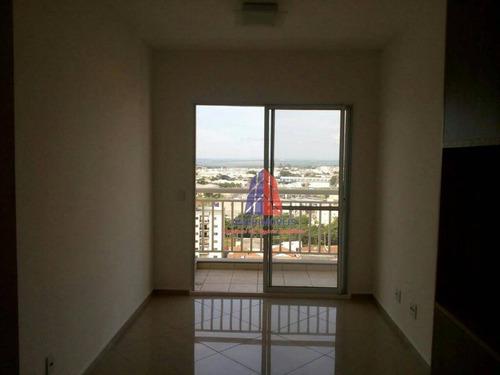 Apartamento Com 3 Dormitórios À Venda, 69 M² Por R$ 350.000 - Residencial Clube Colorê - Vila Belvedere - Americana/sp - Ap0341