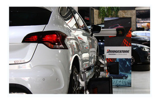Alineación 3 D Rotación 4 Balanceos Auto Bridgestone Oficial