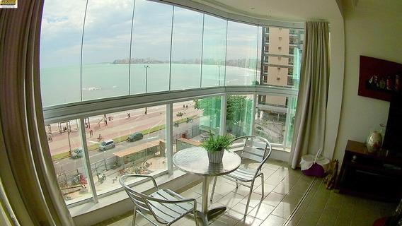 Apartamento 03 Quartos De Frente Para O Mar Na Praia Do Morro. - Ap00924 - 34713485