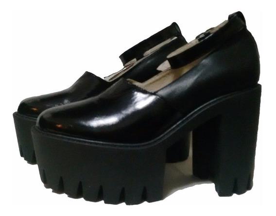 Zapato Tractor Alto Cruz De La Rosa