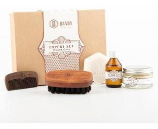 Dandy Set Barba Experto Aceite Peine Balsamo Cepillo Jabon