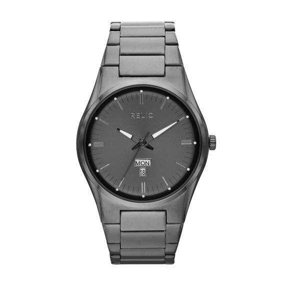 Reloj Caballero Relic Sheldon Zr12124 Color Gunmetal