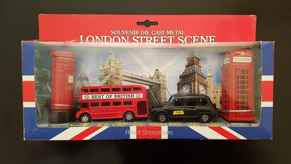 Londres / London Street Scene Souvenir Die Cast