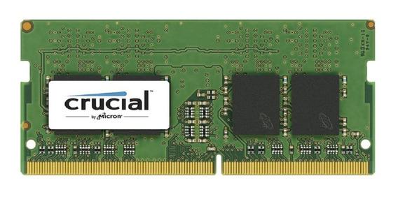 Ram Crucial 8gb Pc4-19200 Ddr4-2400 Sodimm X 1 Unidad