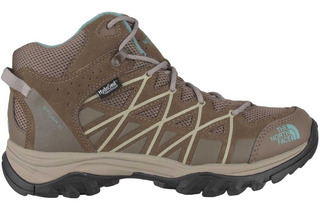 Bota Mujer Storm 3 Mid Wp Impermeable The North Face
