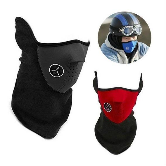 Set 12 Protector Facial Mascara Termica Neopreno Con Cuello